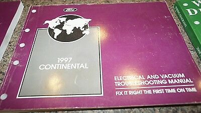 1997 lincoln continental evtm wiring diagrams service manual
