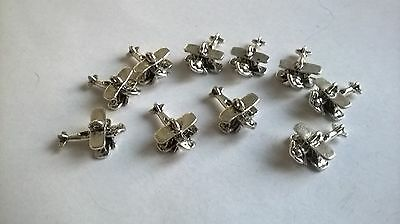 Tiny Planes aeroplanes x 10 CRAFTS DOLLS HOUSE MINIATURES (F5004)