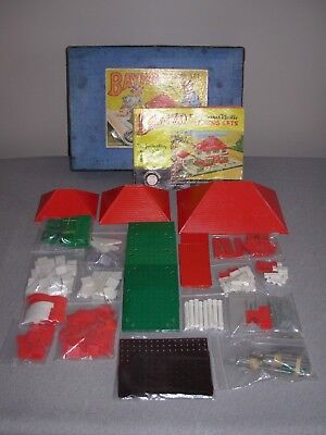 COMPLETE No 3 SET, WITH 1 RAMP, 1 ARIEL, 1 CANOPY & CRAZY PAVING AS EXTRAS