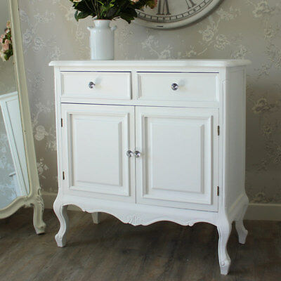 vintage french style shabby chic cream sideboard. Black Bedroom Furniture Sets. Home Design Ideas