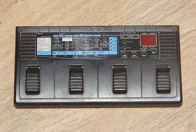 ZOOM 1010 Guitar Multi-Effects Processor complete with power supply