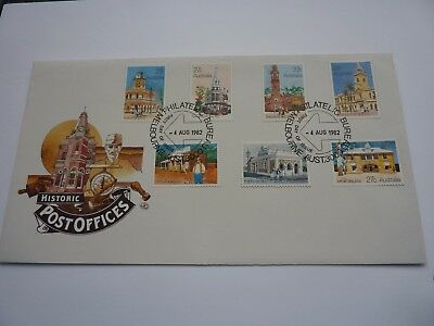 Australia Historic Post Offices 1982 FDC