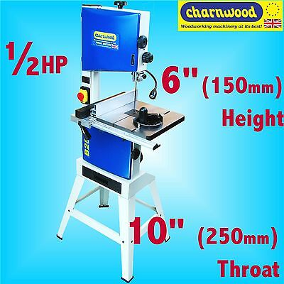 Charnwood B250 250mm 10 Superior Woodworking Bandsaw 1/2HP 150mm cutting height