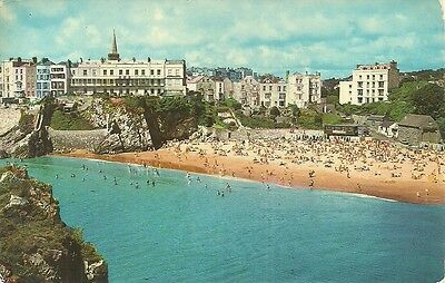 Postcard View From St.catherine's Island, Tenby, Pembrokeshire.