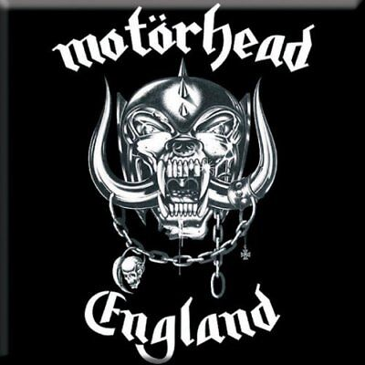 "MOTORHEAD England fridge magnet 3"" square  free UK P&P"