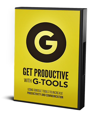 Get Productive With Google Tools- Videos on CD
