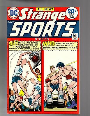 STRANGE SPORTS STORIES 4  FINE-VERY FINE April 1974
