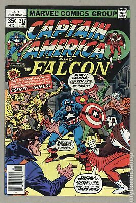 Captain America (1968 1st Series) #217 FN- 5.5