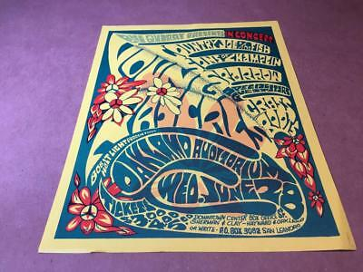 COUNTRY JOE, Young Rascals, Sparrow, Grass Roots OAKLAND AUDITORIUM 1967