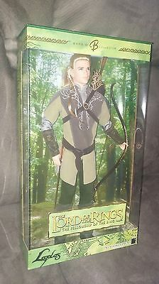 NEW~2004 Barbie/Ken as LEGOLAS Lord of the Rings~Barbie Collector H1192