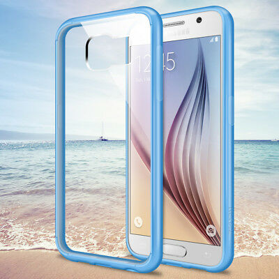Phone Case Acrylic Transparent + TPU Back Cover Slim Skin for Samsung Galaxy S6