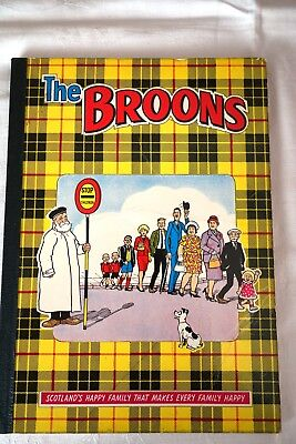 The Broons annual , Vintage 1968 Sunday Post comic strip , D C Thomson & Co VGC