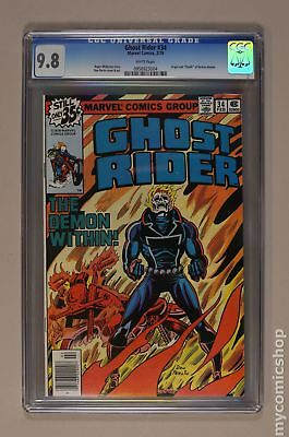 Ghost Rider (1973 1st Series) #34 CGC 9.8 0958923004