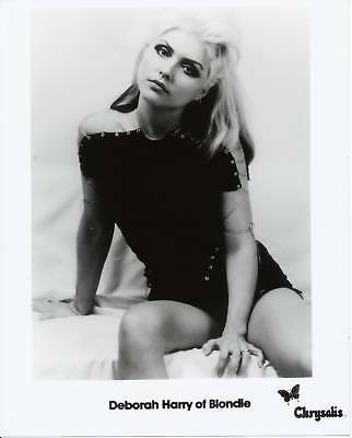 Debbie Deborah Harry Blondie B/W 8x10 Glossy Photo #3