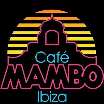 Cafe Mambo Ibiza Fridge Magnet