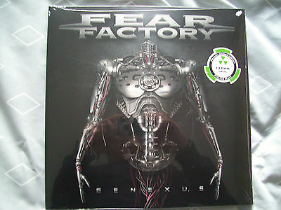 Fear Factory Genexus Double Clear Vinyl Album Limited Edition New&sealed