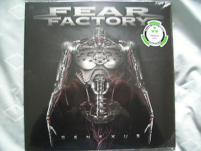 Fear Factory Genexus Double Gold Vinyl Album Limited Edition New&sealed