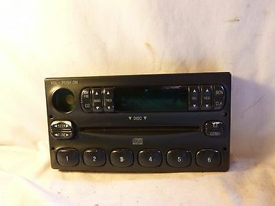99-03 Ford Ranger Explorer F150 Radio Cd Face Plate F87F-18C815-CA BH52423