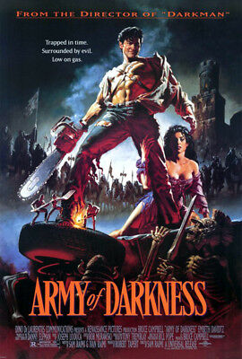Army of Darkness: The Evil Dead III (1993) movie poster reproduction s-s rolled