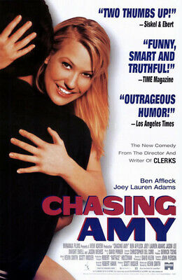 Chasing Amy (1997) movie poster video reproduction single-sided rolled