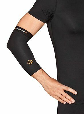 Copper 88 Elbow Compression Sleeve with 88% Copper Fiber Embedded Nylon