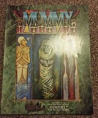Vampire: The Masquerade Role Playing Game.  Sourcebook Mummy.