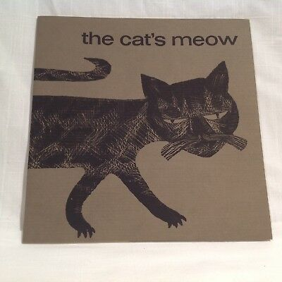The Cat's Meow. Bauer Type Foundry 1961 Type Specimen, Günther Stiller Woodcuts