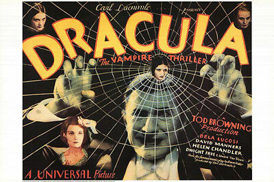 Dracula (1931) limited edition movie poster reproduction single-sided rolled