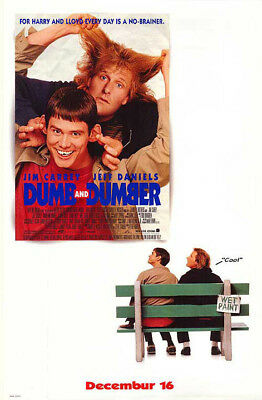 Dumb and Dumber (1994) original movie poster single-sided rolled