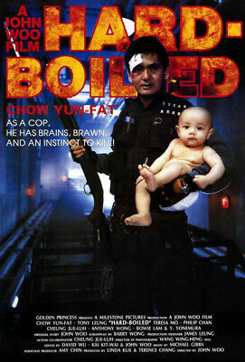 Hard-Boiled (1992) movie poster reproduction single-sided rolled