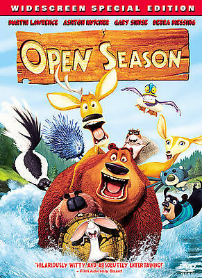 Brand New Open Season Widescreen Dvd Movie Special Edition Animation Free Ship