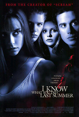 I Know What You Did Last Summer (1997) movie poster reproduction s-sided rolled