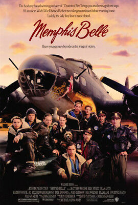 Memphis Belle (1990) original movie poster single-sided rolled
