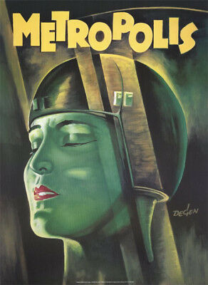 Metropolis (1926) movie poster reproduction single-sided rolled