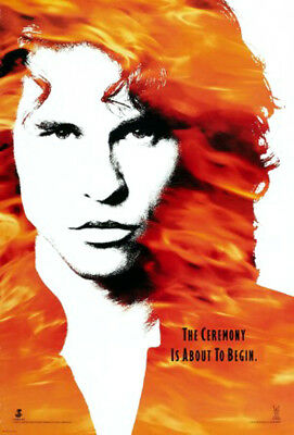 The Doors (1991) original movie poster advance double-sided rolled