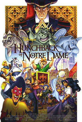 The Hunchback of Notre Dame (1996) movie poster reproduction single-sided rolled
