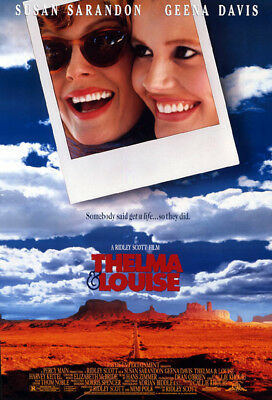 Thelma & Louise (1991) original movie poster single-sided rolled