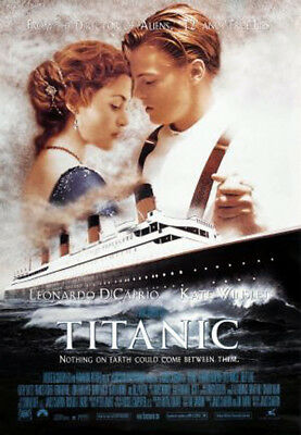 Titanic (1997) movie poster version C reproduction single-sided rolled