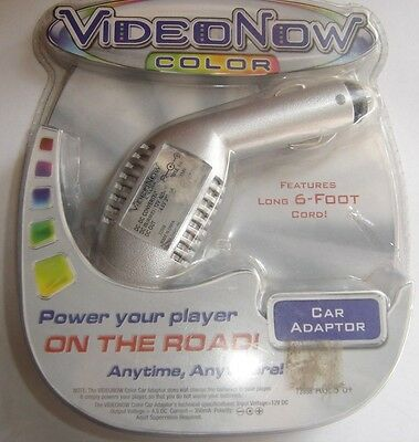 Video Now Color Car Adaptor Plug Hasbro Tiger 2004 New NRFB HTF Sm Flaws On Pkg