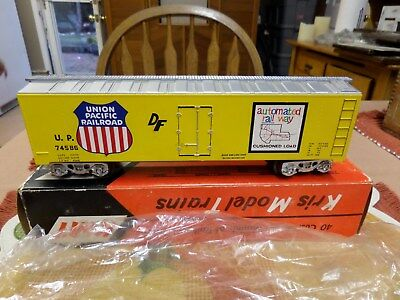 KMT Kris Freight Car Unused With Ori. Box  Union Pacific Automatid Reefer 74586