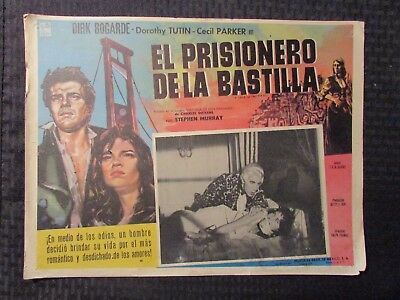 1958 A TALE OF TWO CITIES Foreign 16x12 Lobby Card VG- 3.5 Dirk Bogarde
