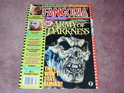 FANGORIA # 120, Army of Darkness, Creature From Black Lagoon, Free shipping USA