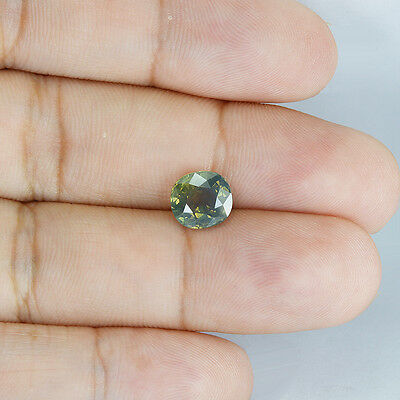 3.156Cts Natural Tanzania Alexandrite Color Change Cushion Rare Gemstone