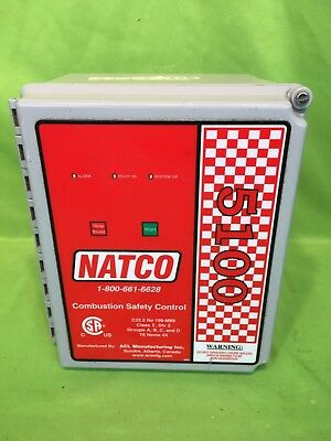 NATCO ACL 5100 Combustion Safety Controller