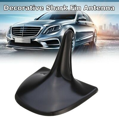 Painted Black Shark Fin Static Aerial Decorative Dummy Antenna For Mercedes-Benz