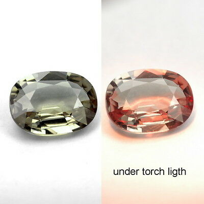1.26 Ct. Majestic Luster Color Change Garnet WITH GLC CERTIFY