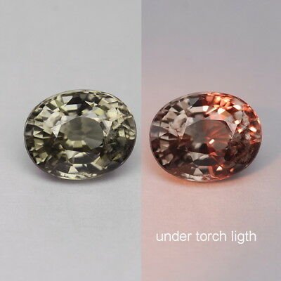 1.51 Ct. Majestic Luster Color Change Garnet WITH GLC CERTIFY