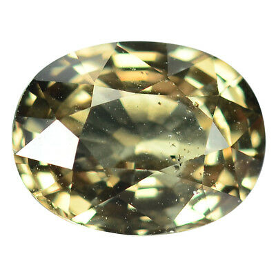 2.26 Ct. Rare Stunning Luster Green To Red Color Change Garnet WITH GLC CERTIFY