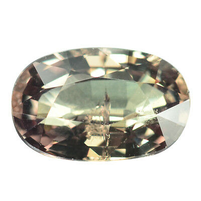 2.81 Ct. Stunning Green To Red Tanzania Color Change Garnet WITH GLC CERTIFY