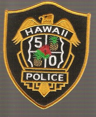 +  Aufnäher Patch HAWAII 5-O  Logo